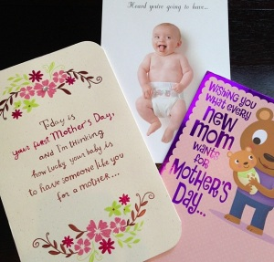 (My first Mother's Day cards...)